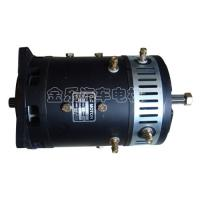 Wholesale Low Noise Black Forklift Drive Motor 48V 4.8KW / Hydraulic DC Motor from china suppliers
