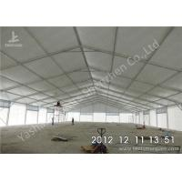 Quality Large Span Aluminum Frame Industrial Storage Tents , Temporary Storage Tents for sale