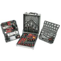Wholesale 186pcs Universal Garage Working Fix Hand Tool Set for Industrial or Home Garden from china suppliers
