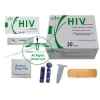 Wholesale HIV-1/2 Whole Blood Rapid Test Kit, hiv home test kit, private hiv test, OraRapid HIV Test from china suppliers