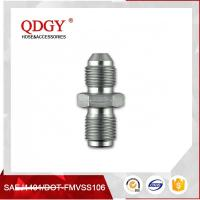 Wholesale STAINLESS STEEL MATERIAL  BLEED NIPPLE FITTING MALE TO MALE ADAPTER M10 X 1.00 TO M10 X 1.25 from china suppliers