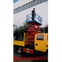 Wholesale hot sale dongfeng brand 14m aerial working platform truck with bucket, best price hydraulic aerial working bucket truck from china suppliers