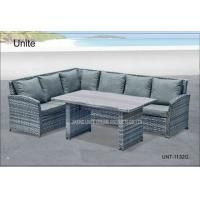 Wholesale Rattan Wicker Outdoor Sectional Sofa Set , Contemporary Garden Furniture from china suppliers