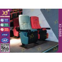 Wholesale Metal Frame Inner Structure Cupholder Folding Theater Seats Pushing Back For Theatre from china suppliers