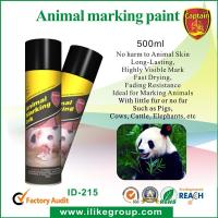 Wholesale Livestock / Animal Marking Spray Paint 750ml , High Reflective Spray Paint ISO / CE from china suppliers
