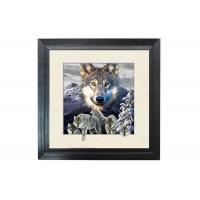 Wholesale 5D Effect Wolf 3D Lenticular Photo Printing For House Decoration MDF Frame from china suppliers