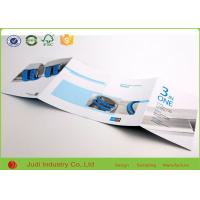 Wholesale Spiral Binding A4 Brochure Printing , Color Proofs Staples Brochure Printing from china suppliers
