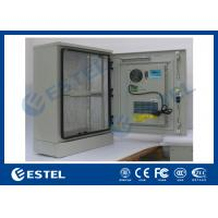 Wholesale Single Wall Stainless Steel Outdoor Telecom Cabinet With Cooling System / Air Conditioner Type Telecom Enclosure from china suppliers