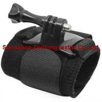 Wholesale GoPro motion camera holding elastic hook loop wrist/arm strap from china suppliers