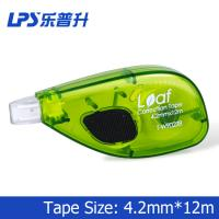 Wholesale Eco Friendly Green Colored Correction Tape for Students Sided Way Type from china suppliers