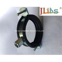 Wholesale Cast Iron Pipe Round Pipe Clamps Gi Pipe Clamp With M8 M10 Combi Nut And Rubber And Bolt from china suppliers