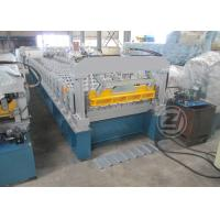 Wholesale 20-25m/min Trapezoidal Profile Roll Forming Machine With Cr12 Mould Steel Cutter from china suppliers
