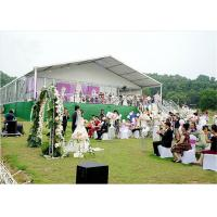 Quality 700 People Large Aluminium Tent / Large White Marquee Tents For Wedding for sale