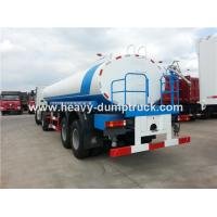 Wholesale HOWO 6X4 Water Tank Water Delivery Trucks With 23 CBM And ZF8098 Steering Box from china suppliers