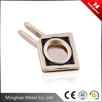 Wholesale 31.54*47.71mm small metal buckle for handbag,zinc alloy light gold bag accessories buckle from china suppliers