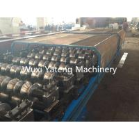 Wholesale Aluminum Metal Corrugated Roll Forming Machine Fully Automatic Panasonic PLC Control from china suppliers