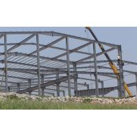 Wholesale Small Agricultural Steel Frame Buildings , Large Span Prefabricated Steel Structures from china suppliers