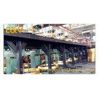 Quality 17 mm Brass Rod Continuous Upcaster Line Brass Casting Equipment 400KW AC 380V for sale