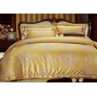 Wholesale Golden Full Size Bedding Sets Tencel Bedding with 2 Pillowcases , 1 Duvet cover from china suppliers