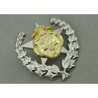 Wholesale Army Zinc Alloy Custom Medal Awards 2 Pcs Combined With Double Tones Plating from china suppliers