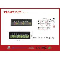Wholesale Indoor LED Display Signs Parking LED Display Green And Red 760*152mm from china suppliers