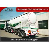 Wholesale 45m3 Pneumatic Dry Bulk Cement Tanker Trailer With Diesel Engine from china suppliers