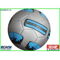 Wholesale Laser PVC Machine Stitched Football Soccer Ball 32 Panels With Custom Printing from china suppliers