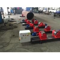 Wholesale 5 Ton HGK Conventional Welding Rotator For 250 – 2300mm Vessel 2×0.37 Motor Power from china suppliers
