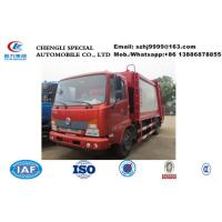 Wholesale Hot sale dongfeng YUHU 4*2 LHD Compactor Garbage Truck, Factory sale best price dongfeng 8m3 garbage compacted truck from china suppliers