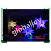 Wholesale 16 colors inflatable star with RGB led light / Party ceiling decoration / inflatable hanging star /  wedding decoration from china suppliers