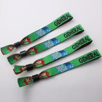 Wholesale Disposable Custom Wrist Band For Sports / Festival OEM Acceptable from china suppliers