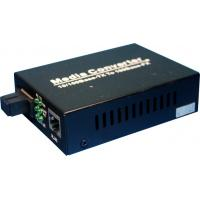 Wholesale Gig Fiber Optic Media Converter Device 9 / 125um External Power Supply from china suppliers