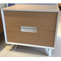 Wholesale Sturdy storage wood cabinets, 2 drawers and stable steel supporting legs from china suppliers