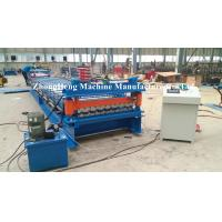 Wholesale GI / PPGI Panel Roofing Sheet Roll Forming Machine , Metal Roll Forming Machines from china suppliers