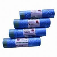 Wholesale Garbage Bag with Rope, Various Sizes and Colors are Available from china suppliers