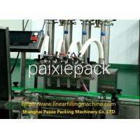 Quality Piston Type Jam Filling Capping Machine Customized Bottle Filling Machine for sale