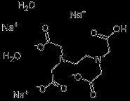 edta trisodium chemical structure