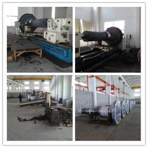 Quality Forging Steel Step Industrial Shafts 34CrNiMo6 L3500mm OD 1800mm for sale