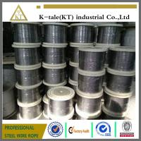 Wholesale Good quality 304/316 6*19+fc stainless steel wire rope for tow with cheap price from china suppliers
