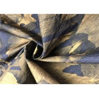 Leaves Pattern Graphic Print Fabric Soft Light Hand Feel For Outdoor Clothing