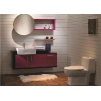 Wholesale Artificial Stone Free Standing Bathroom Vanity Cabinets With Sink And Tops Traditional from china suppliers