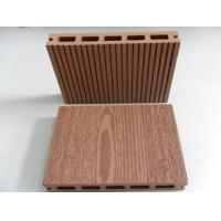 Buy cheap Chinese hollow wpc decking with recycled materials with CE certificiate from wholesalers