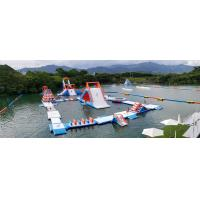 Buy cheap HK Inflatable Floating Water Park Games Manufacturer / Inflatable Water Obstacle Course from wholesalers
