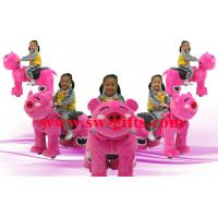 Buy cheap Amusement rides electric riding plush toy ride battery animal car exporter from wholesalers