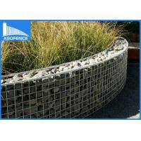 Quality Low Carbon Garden Wire Gabion Mesh Cages / Wall Fence For Bridge Protection for sale