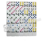 Buy cheap Colorful Point Marked Dominoes Invisible Playing Cards For UV Contact Lenses Gambling Device from wholesalers