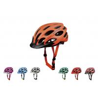 Wholesale Offset Printing Teenager / Adult Bicycle Helmet Light Weight Super Impact Resistant from china suppliers