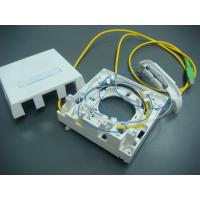 Wholesale Fiber Optic Termination Wall Socket Single Family Unit For RJ45 And SC 86Type Mounting Box from china suppliers