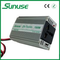 Wholesale Portable Single Phase DC / AC 12 Volt to 220 Volt Modified Sine Wave Inverter 150W from china suppliers