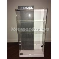 Wholesale Counter Top Acrylic Display Case Metal Base Watch Display Units Double Sided from china suppliers